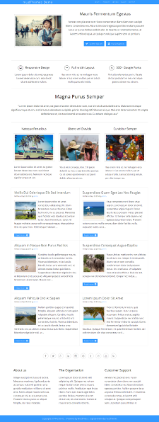 Cognize Theme Preview for Travel Niche