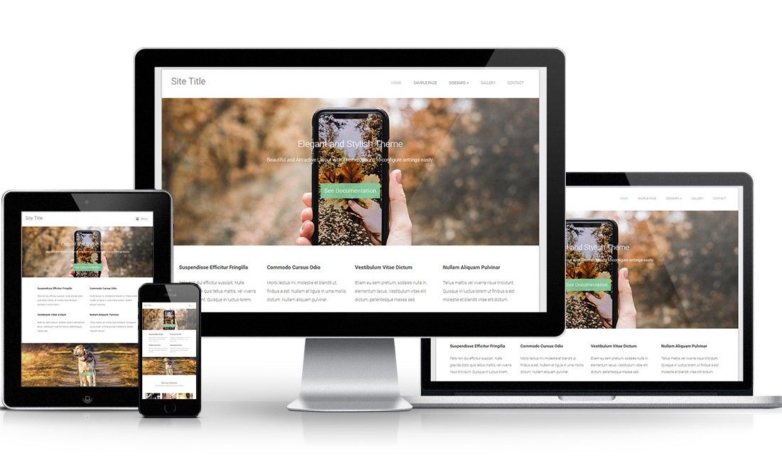 Dense WordPress Theme